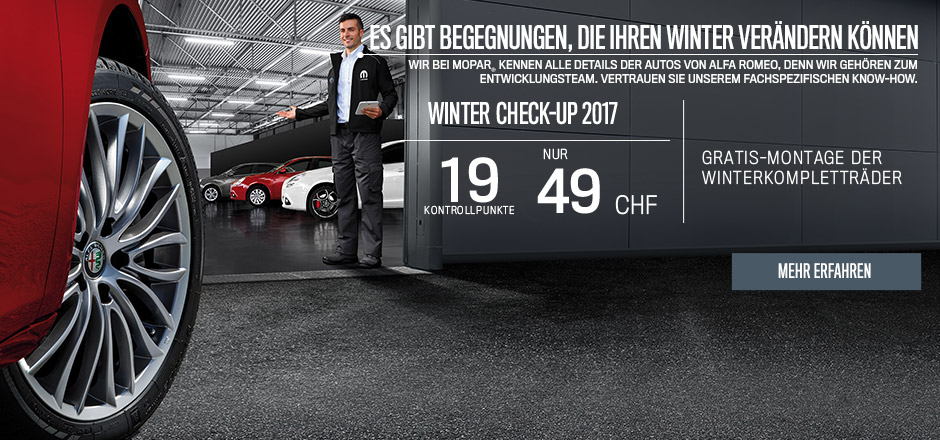 Alfa Romeo Winter Check-up 2017